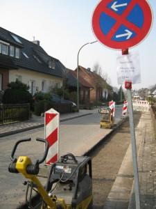 Baustelle Strothesiedlung