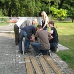Wir bauen eine Bank_Zusammenbau