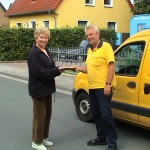 35. Jahre Postbote in Atter