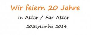 Bürgerverein feiert 20 Jahre In Atter/ Für Atter
