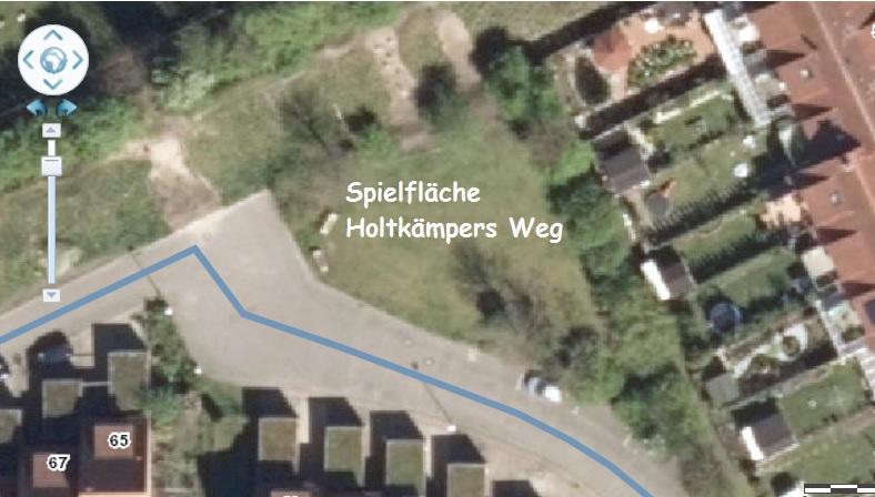 Holtkämpers Weg_Spielfläche