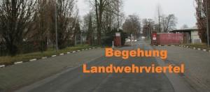 Landwehrviertel in Osnabrück Atter Eingangsbereich Landwehrstraße