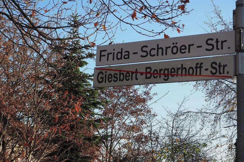 Frida Schröer Straße in Osnabrück Atter